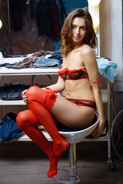 EroticBeauty - 2015-08-16 - Nadine B - Dressing Room 1 - By Max Asolo