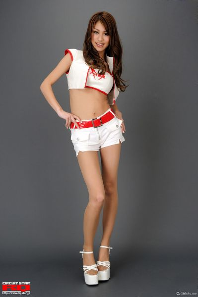 RQ-STAR NO.0262 Rika Hashimoto 橋本梨華 Race Queen