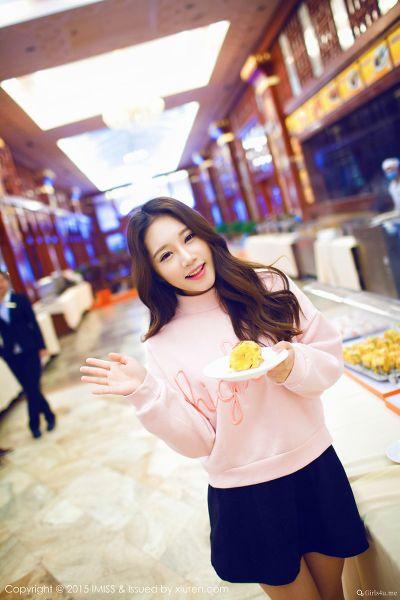 IMISS 爱蜜社 2015.08.25 VOL.015 小丽莎萌萌哒