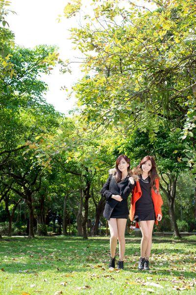 Twins Shin(雙喬兒) 大安森林公園