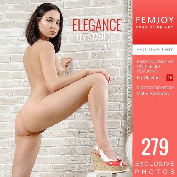 Fem Joy - 2019-11-04 - Ely Stanton - Elegance - By Viktor Pankratov 279 3334X5000