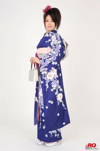 RQ-STAR NO.0068 Hitomi Furusaki 古崎瞳 謹賀新年 Kimono – Happy New Year