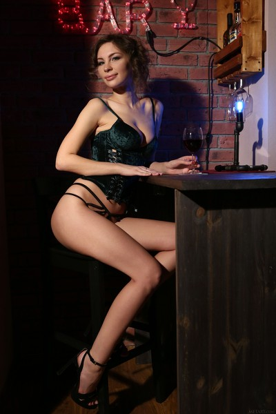MetArt - 2019-02-24 - Galina A - Nude Bar - By Volkov