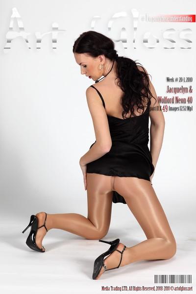Art of Gloss - 2010 Week 20-1 - Jacquelyn  Wolford Neon 40 Part Ii 49 1310X1966