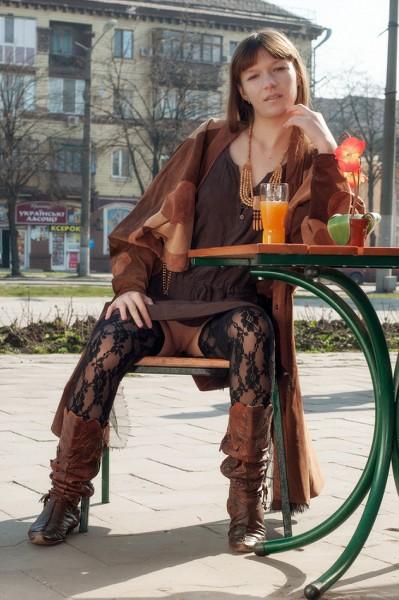 EroticBeauty - 2018-08-30 - Red Eva - Public Nudity - By Stanislav Borovec