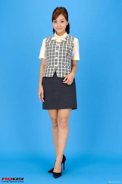 RQ-STAR NO.0230 Mina Momohara 桃原美奈 Office Lady