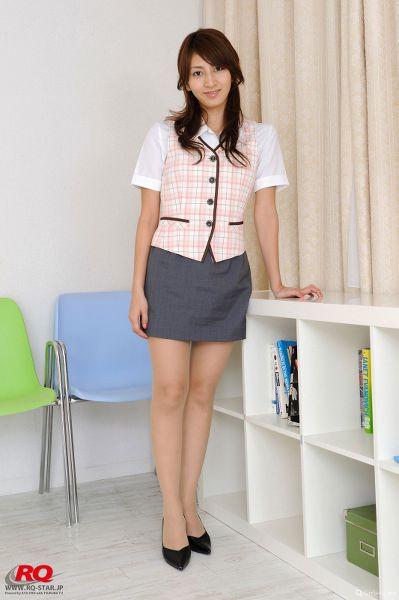RQ-STAR NO.1115 Yuka Yamazaki 山崎友華 Office Lady
