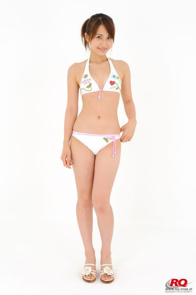 RQ-STAR NO.0044 Rena Sawai 澤井玲菜 Swim Suits – White