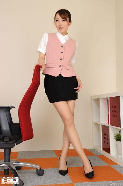 RQ-STAR NO.0525 Yukina Masaki 真先由紀奈 Office Lady