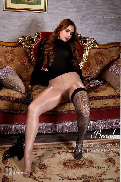 ArtOfGloss - 2016 Week 45-6 - Brooke  Charnos Sheer Lustre  Lurex Hold Up Chicago Part Iii