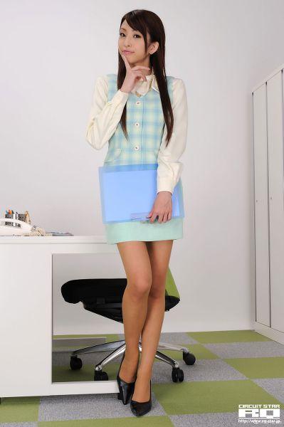 RQ-STAR NO.0293 Mirei Kurosawa 黒沢美憐 Office Lady