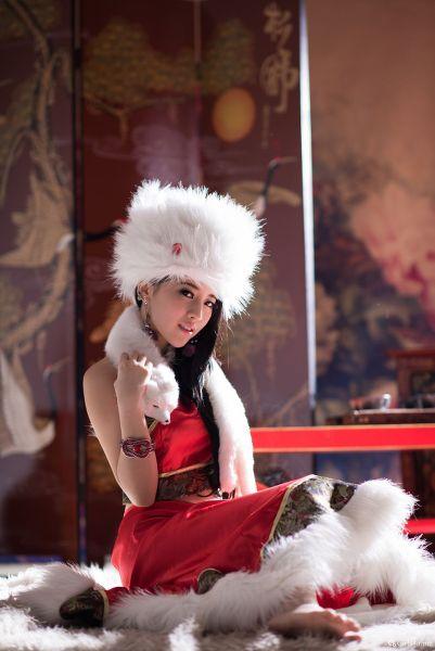 張楚曼 中國風&聖誕內衣 琴二棚
