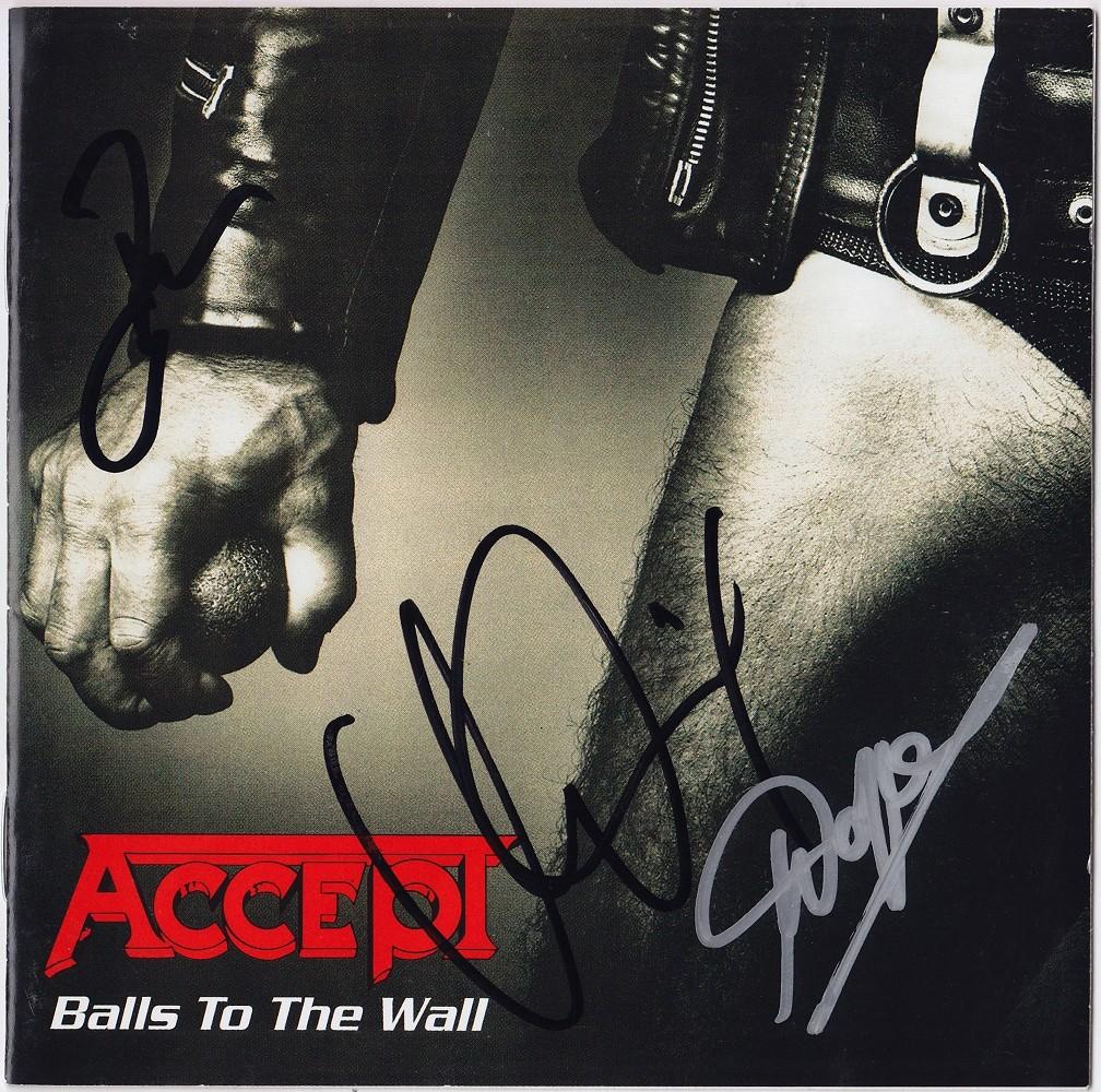 ACCEPT Balls to the Wall UDO DIRKSCHNEIDER Wolf Hoffmann