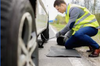 Roadside Assistance tire replacement