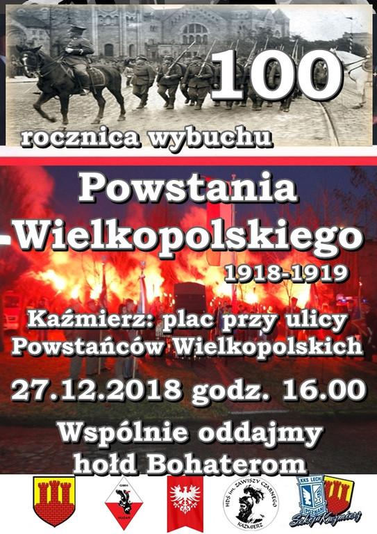 Patriotyczne obchody wKaźmierzu