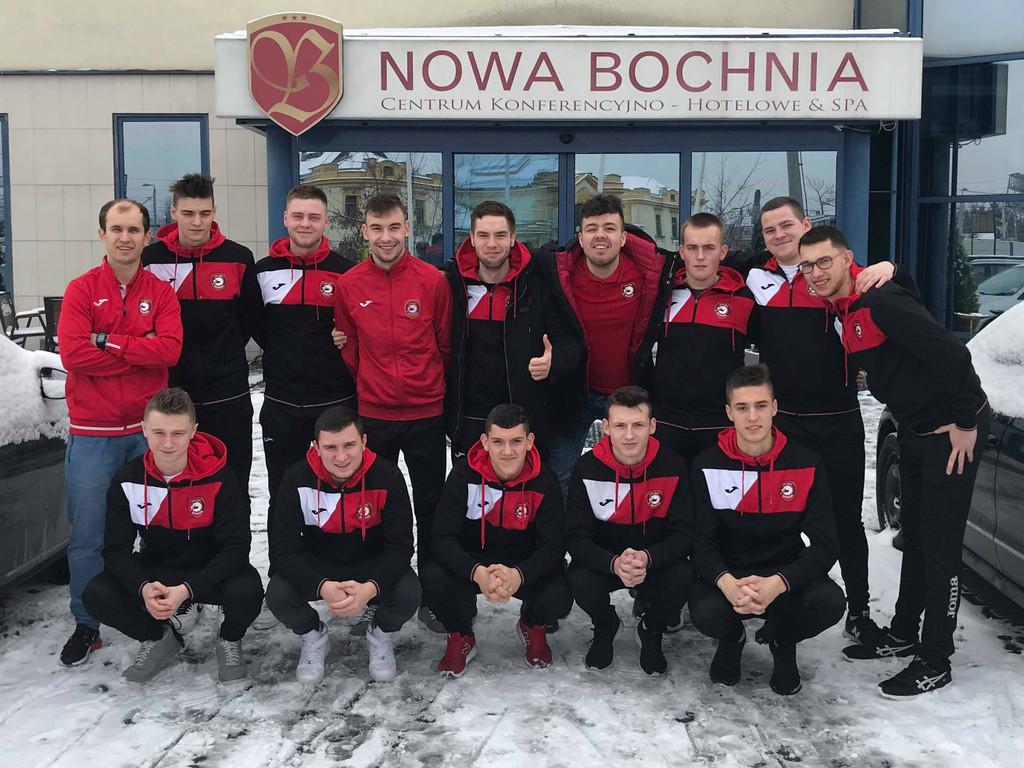 Pniewska młodzież wnajlepszej ósemce zespołów wkategorii U20 MMP