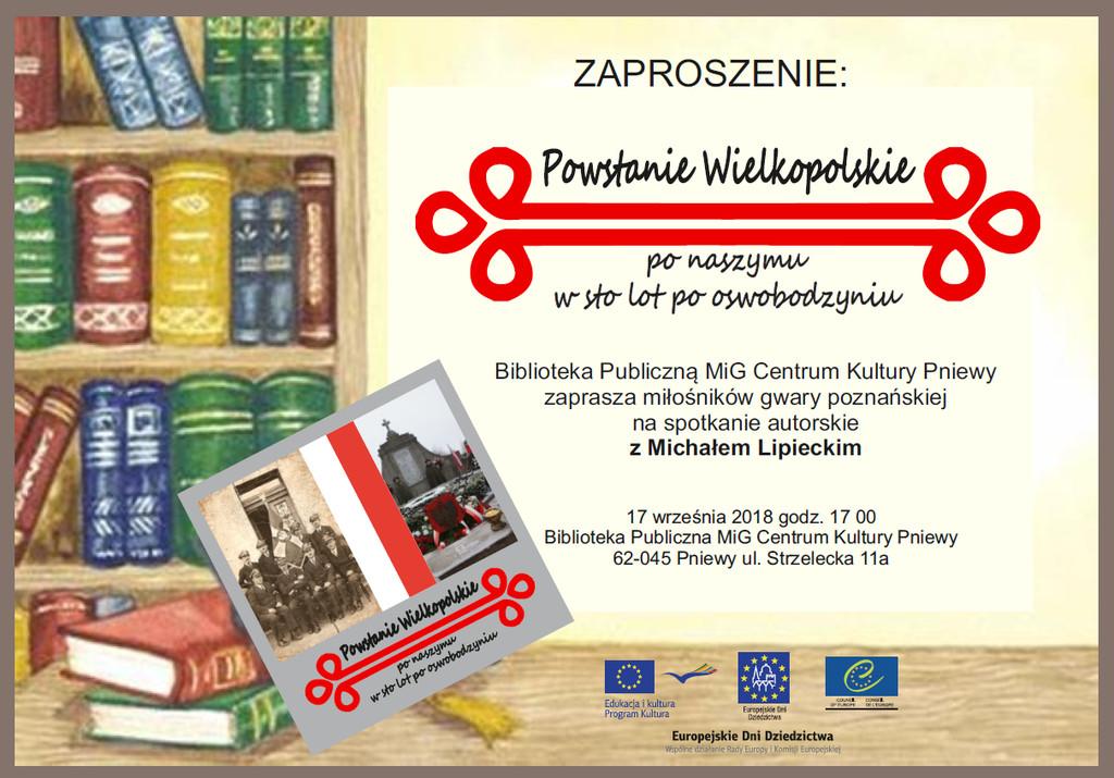 Powstanie Wielkopolskie ponaszymu – wsto lot pooswobodzyniu