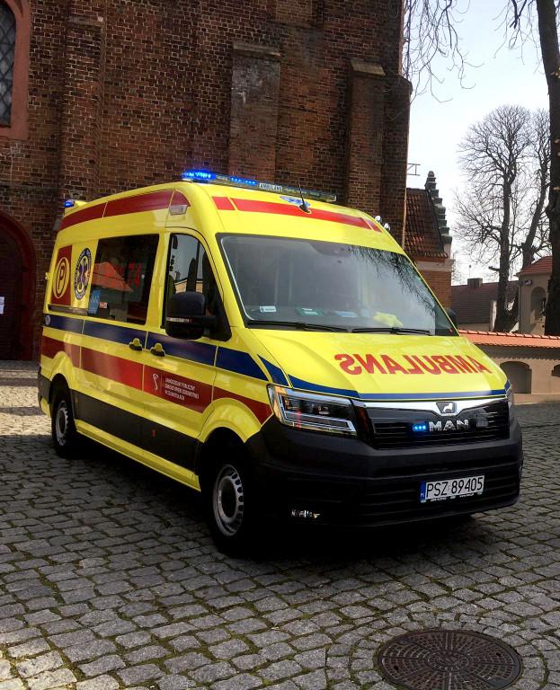 Nowy ambulans dla pniewskiej podstacji
