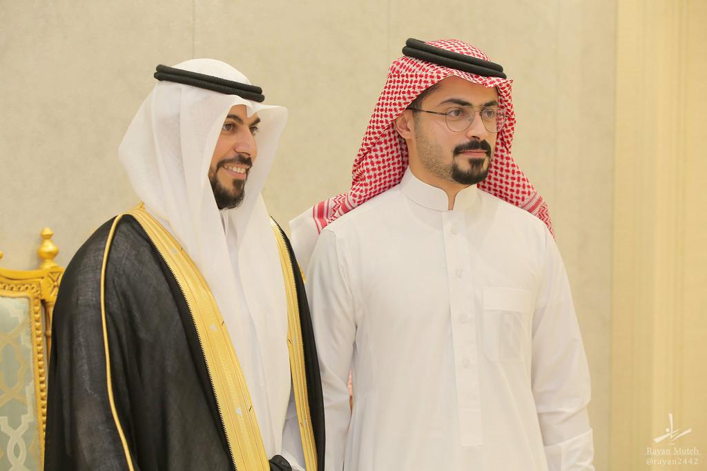 أفراح الزايدي والباحوث (زواج عبدالعزيز