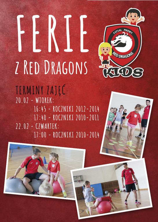 Ferie zRed Dragons