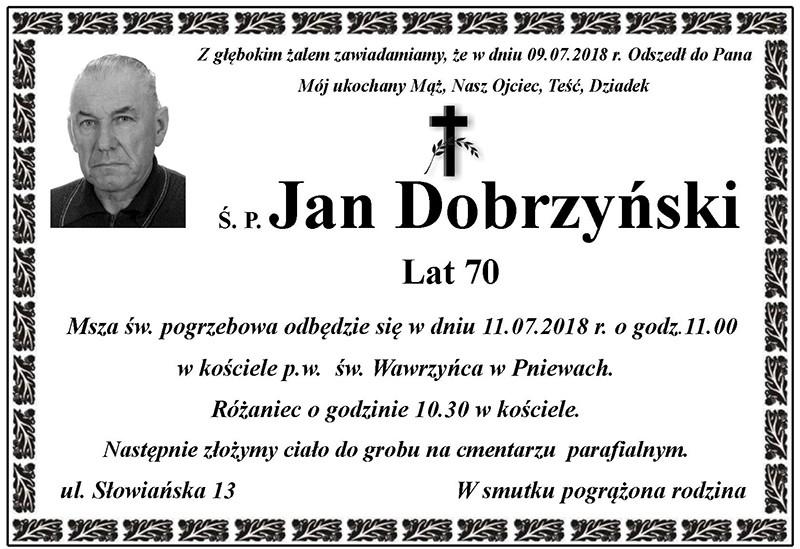 Żyli wśród nas – Jan Dobrzyński
