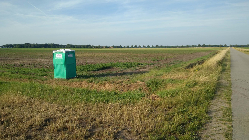 Бесплатные общественные туалеты в Нидерландах (фото)