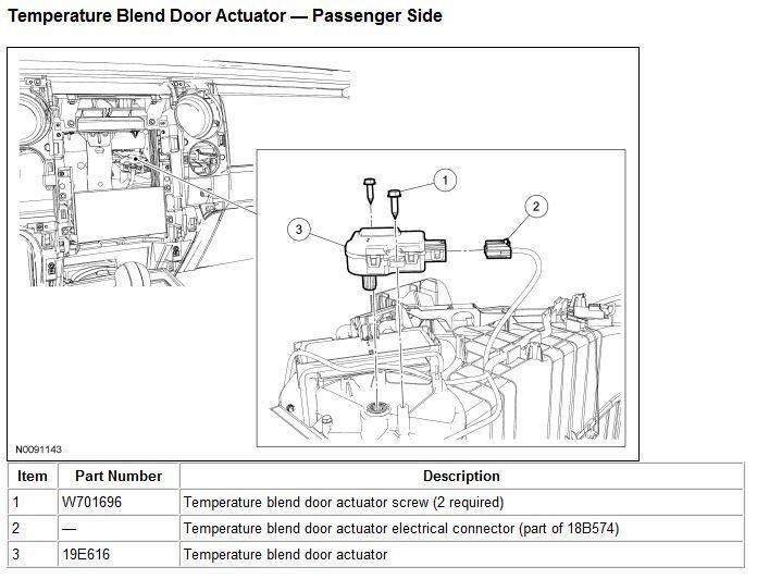 2013 F150 Lariat Blend Door Actuators - Ford F150 Forum