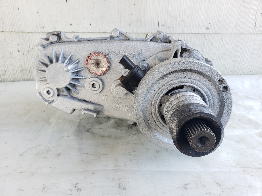 What Does A Transfer Case Do >> Details About Transfer Case 00 01 Jeep Wrangler Tj 23 Spline Manual 52111252aa 6 Cyl 4 0 Nv231