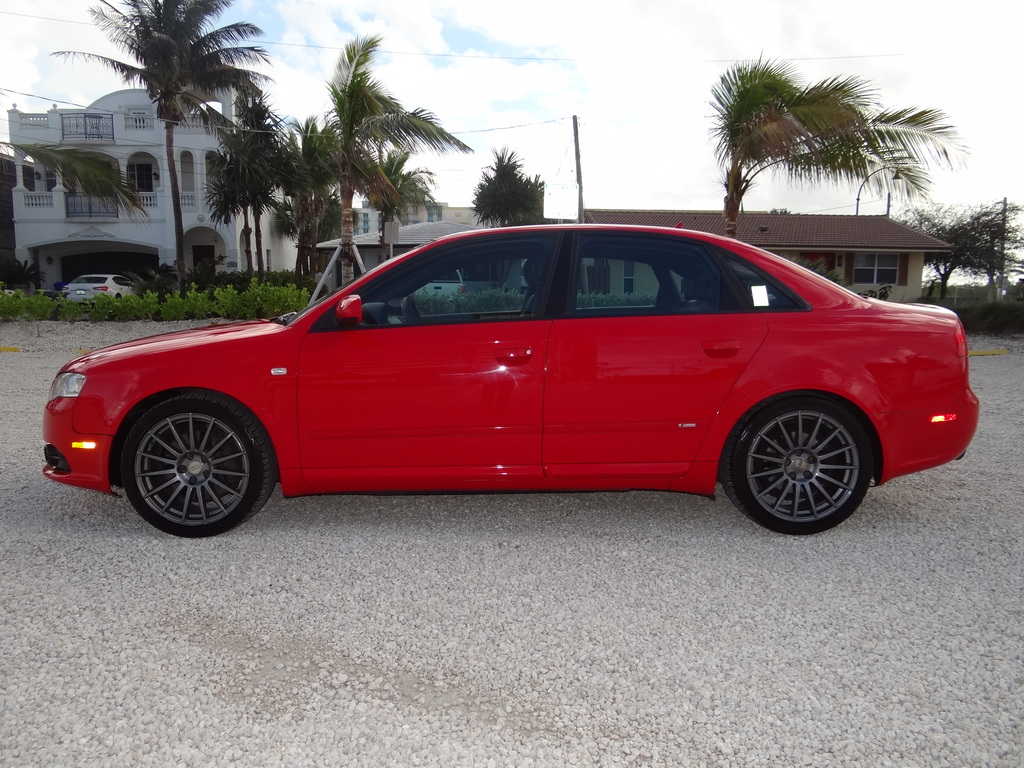 2008 Audi A4 S-LINE: *AUDI A4-S-LINE** 2 OWNER Florida Car**GORGEOUS AND STUNNING**NO RESERVE