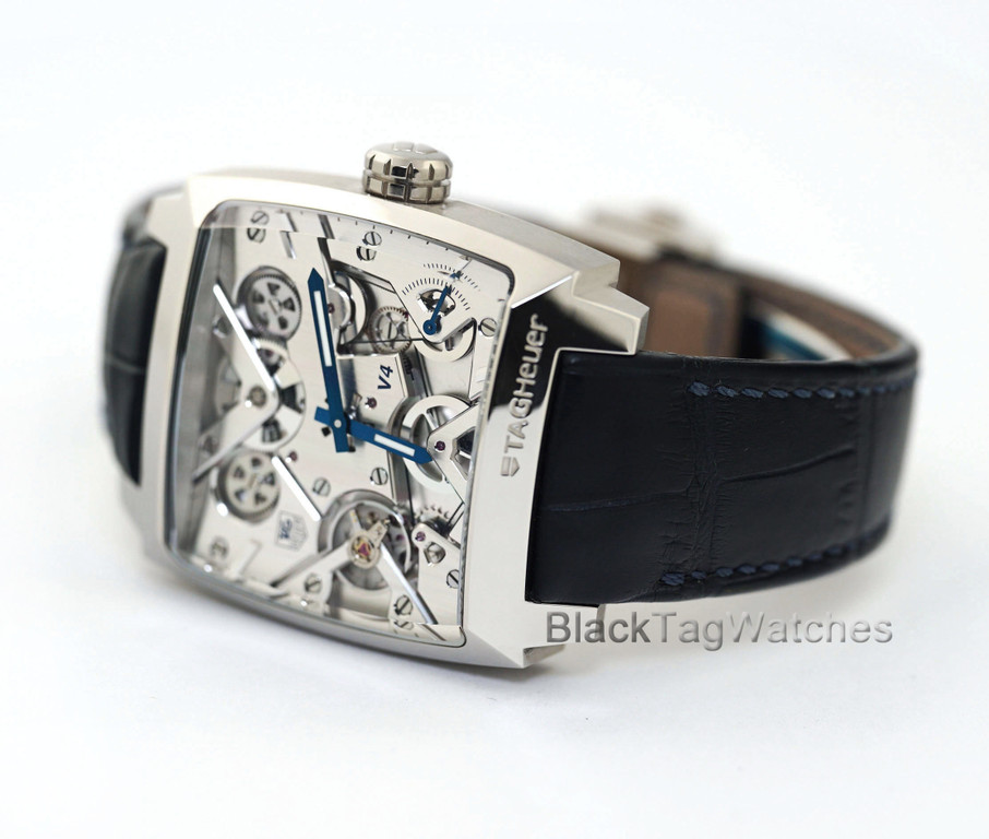 Tag Heuer Monaco V4 Waw2170 Fc6261 Platinum Limited