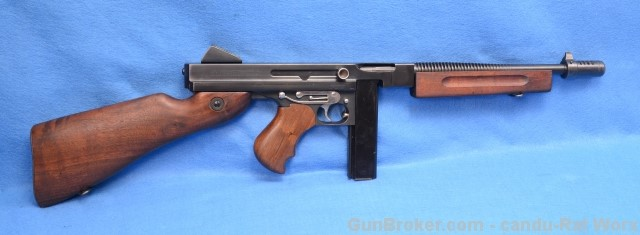 M1A1 Military Marked Transferable on Gunbroker for 10k