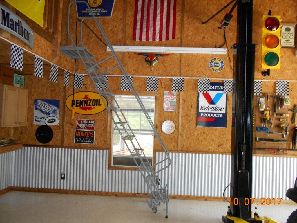 Show Off Your Lifts The Garage Journal Board Extension Cord For 220v Welder Jeepforumcom Stairs Are Controlled By This Winch Motor I Can Control From Upstairs Or Down