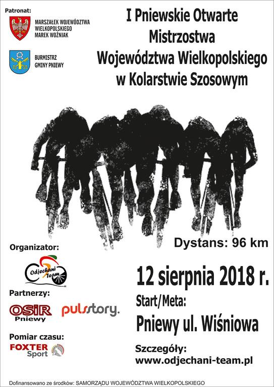 IPniewskie Otwarte Mistrzostwa Wielkopolski wKolarstwie Szosowym
