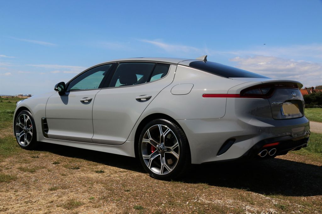 Official Ceramic Silver Amp Ghost Grey Kia Stinger Pictures