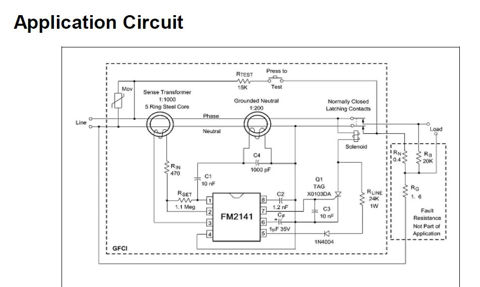 Leviton Gfci Nuisance Tripping And Circuit Analysis