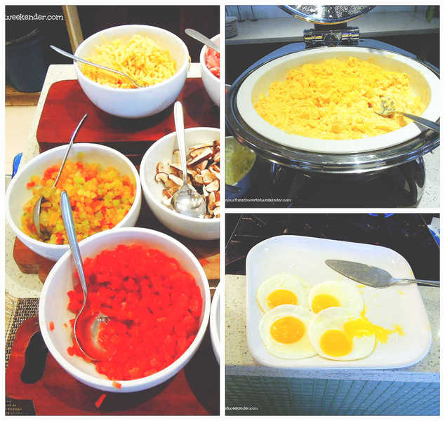 Costa Pacifica The Beach House Breakfast Eggs and omelet station