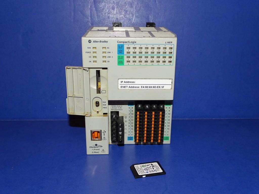 Allen Bradley 1769 L18er Bb1b Series A Processor Ebay