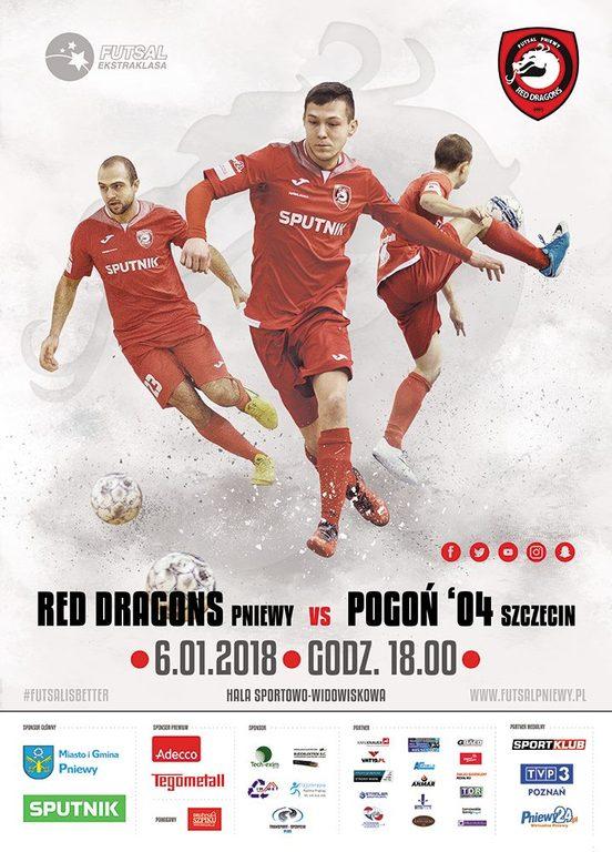 Red Dragons Pniewy – Pogoń '04 Szczecin
