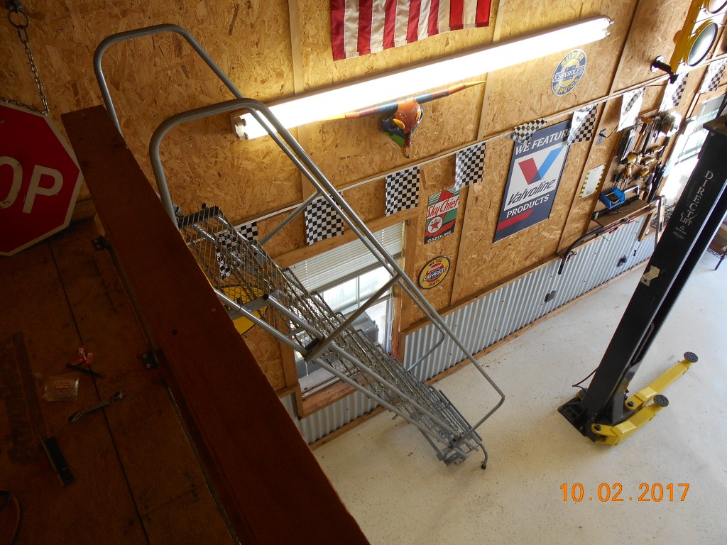 Show Off Your Lifts The Garage Journal Board 9000 Lb Eagle Lift Wiring Diagram Stairs Are Controlled By This Winch Motor I Can Control From Upstairs Or Down