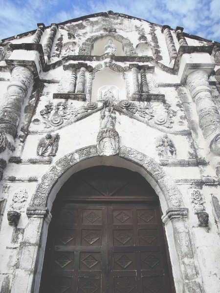 Facade of Daraga Church