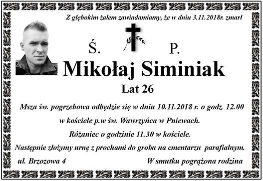 Żyli wśród nas – Mikołaj Siminiak