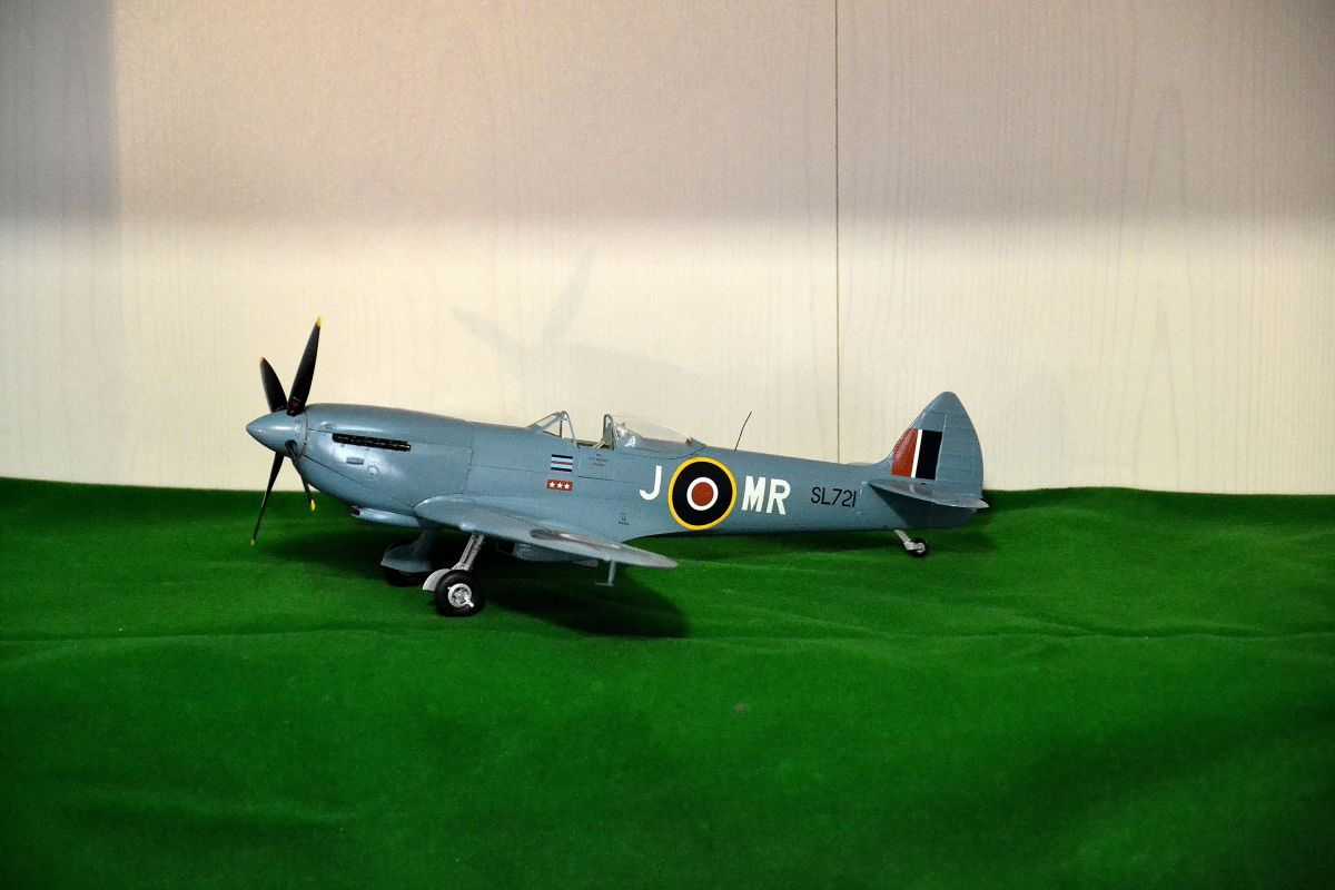 Spitfire Mk XVI, SL721 - Ready for Inspection - Large Scale