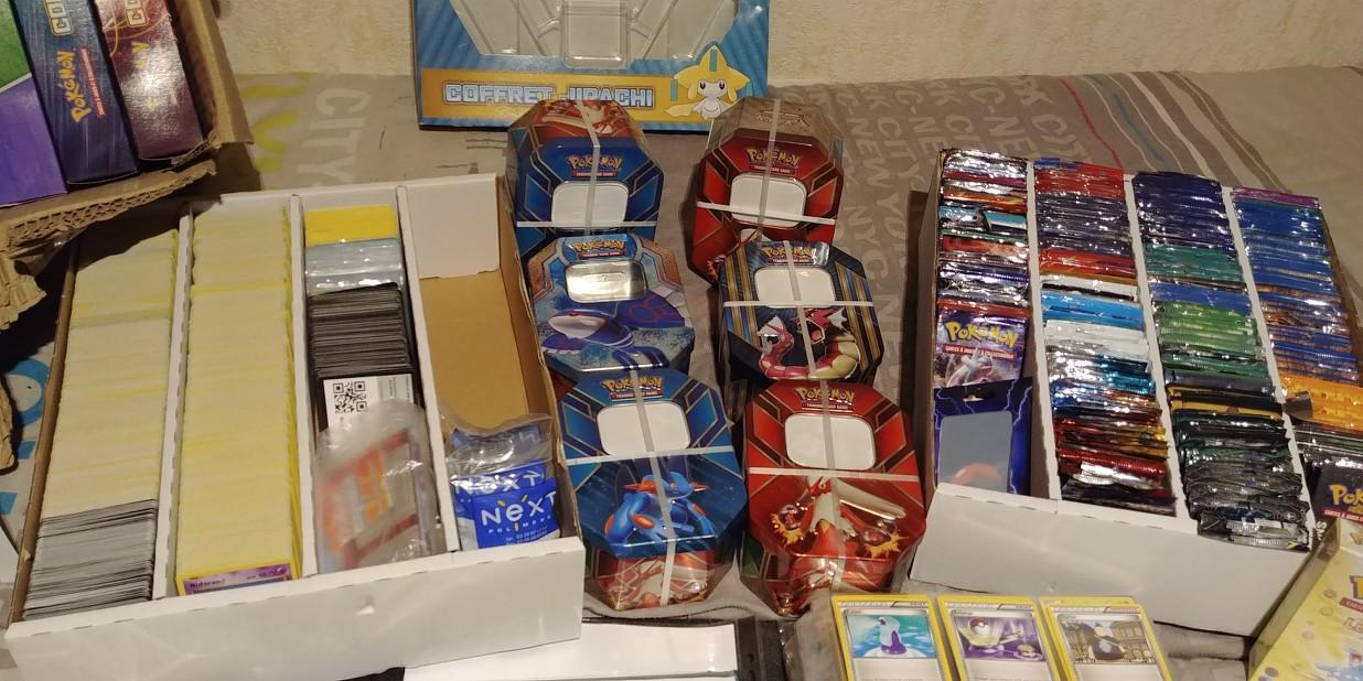 Vente Collection Complete Cartes Pokemon Gros Lot Pokecardex Forum