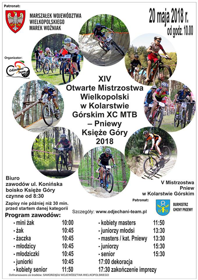 Otwarte Mistrzostwa Wielkopolski wKolarstwie Górskim