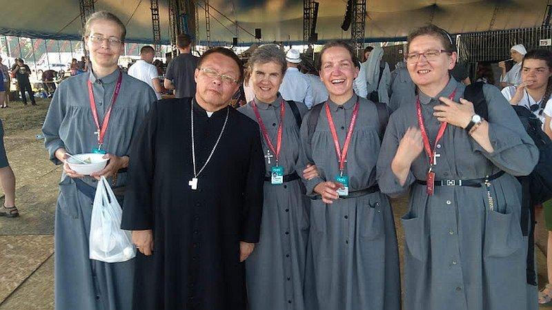 Siostra Lidia naPrzystanku Jezus