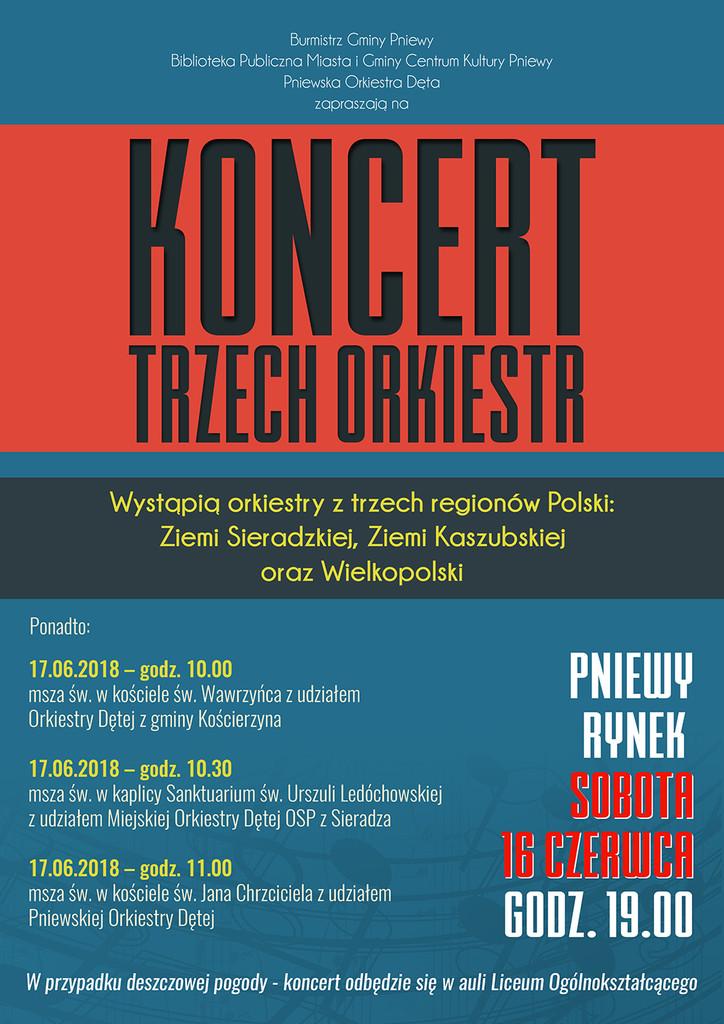 Koncert Trzech Orkiestr