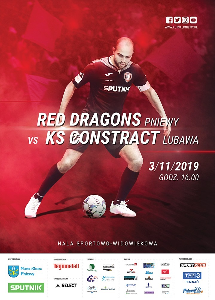 Red Dragons Pniewy – Constract Lubawa