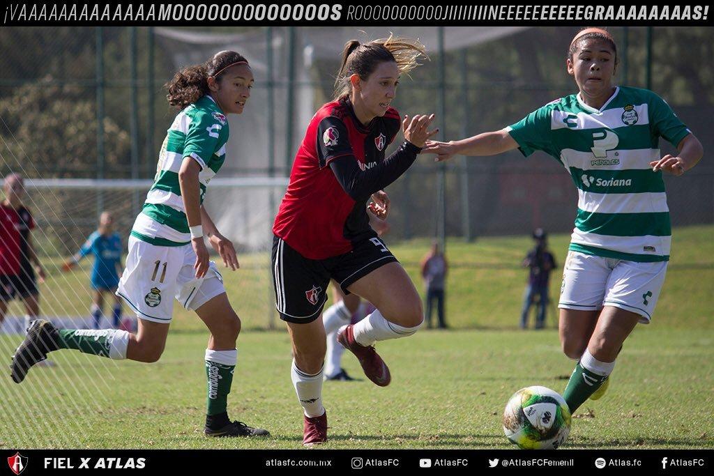 Resultado Atlas vs Santos – J7- Clausura 2019- Liga MX Femenil