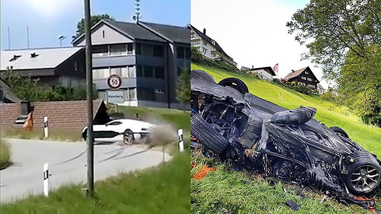 The Grand Tour Richard Hammond Rimac Concept_One Crash Accident