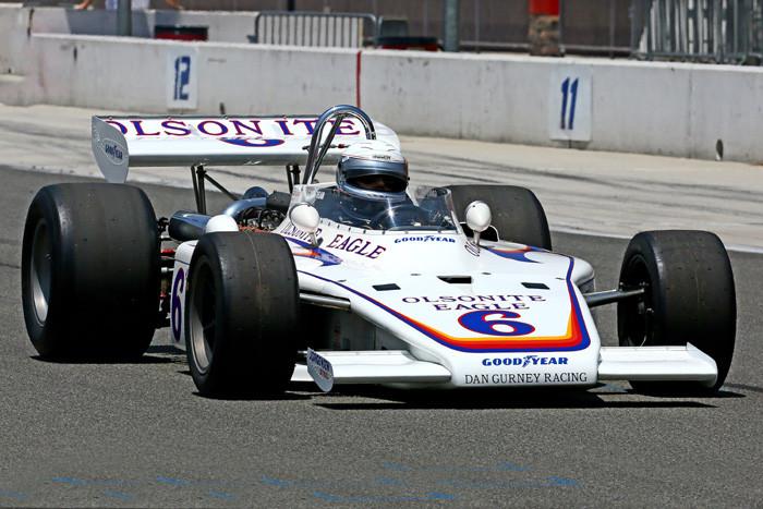 Bobby Unser 1971 Eagle Dan Gurney Racing